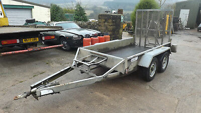 Indespension Plant Trailer, Perfect For A Mini Digger Or Small Dumper