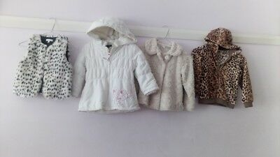 Girls Various Fashion Winter JACKETS - New and as new Size 5