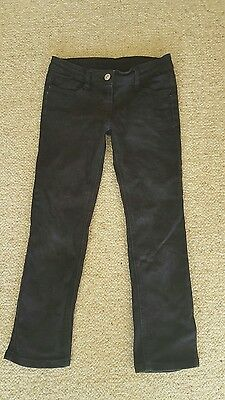 Boys or girls black jeans size 8