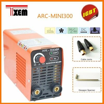 ARC-300 Mini  20-315 AMP Mini Stick ARC DC Inverter Welder IGBT 220V Household