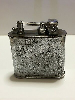 Accendino LANCELL a benzina BREVETE AAL PARIS table lighter fuel, Made in france