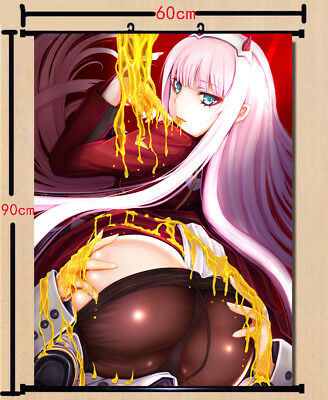 DARLING in the FRANXX Zero Two Home Decor Poster Wall Scroll 60*90cm#M-T445