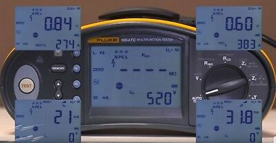 Fluke CALIBRATION 1651 1652 1653 1661 1662 1663 1664 1654