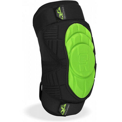 Planet Eclipse HD Core Knee Pads Green XXL Gotcha Knieschoner PE Paintball