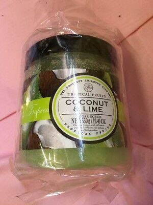 The Somerset Toiletry Company Tropical Fruits Coconut & Lime Sugar Scrub