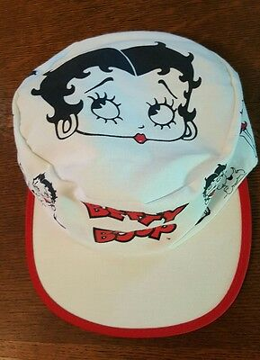 Rare vintage Betty Boop painters cap hat