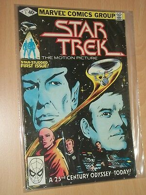 star trek 1,2,3 Marvel Comics bagged and read once