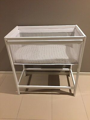 As New Baby Bassinet With Mattress In Perfect Condition!!!