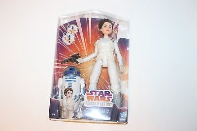 Star Wars Forces of Destiny Princess Leia & R2D2 Disney New and Sealed