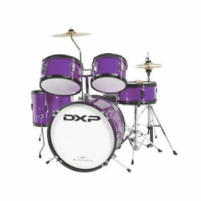 DXP Junior Series 5 Piece Drum Kit - Metallic Purple