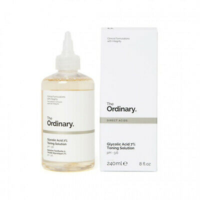 [THE ORDINARY] Glycolic Acid 7% Toning Solution - 240ml / Free Gift