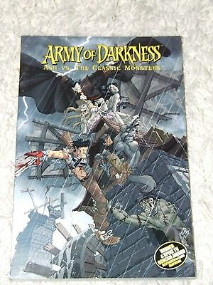 Army of Darkness Ash vs. The Classic Monsters TPB (2007 Dynamite)