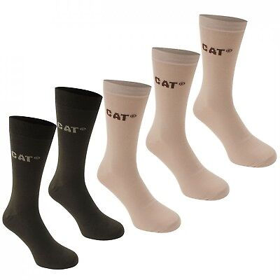 RESTPOSTEN CAT Caterpillar 50 Paar Herren Businesssocken Socken,Beige-Grün 39-42