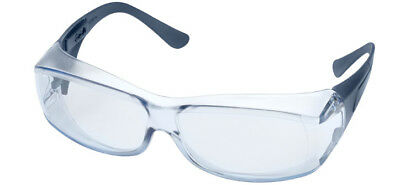Elvex OVR-Spec III Safety Glasses with Blue Lens and Metal Detectable Temples