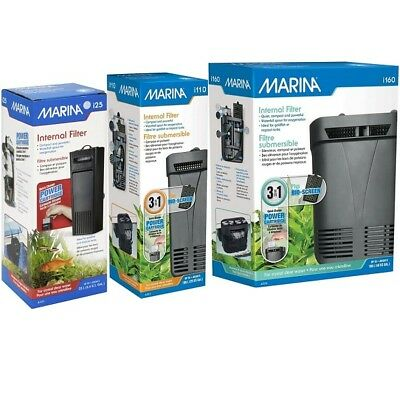 Marina Aquarium Internal Power Filter i25 i110 i160 Fish Tank Cartridge