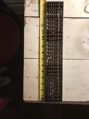 Large Vintage Antique Wood Wooden Abacus (A20)