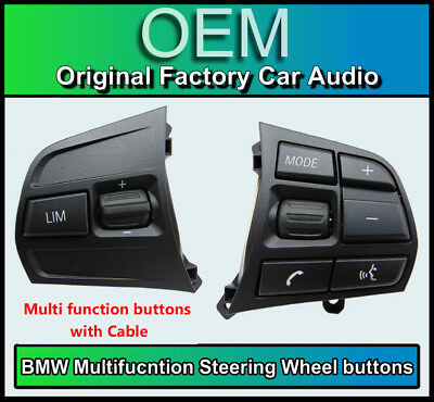 BMW 1 Series Steering Wheel buttons Multi-function control, BMW F20 F21 Sport