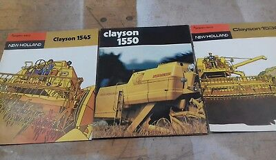 New Holland  Clayton brochures