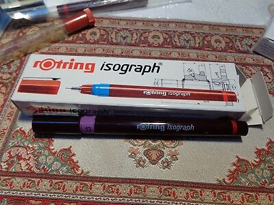 rOtring  Isograph Tuschefüller 0,13 mm