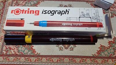 rOtring  Isograph Tuschefüller 0,35 mm