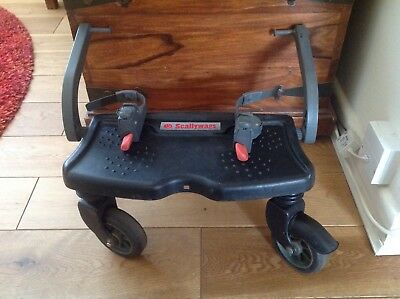 Scallywags universal pushchair / buggy board Black Good Used Condition