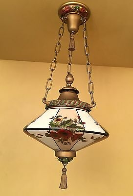 Vintage Lighting amazing 1920s pendant