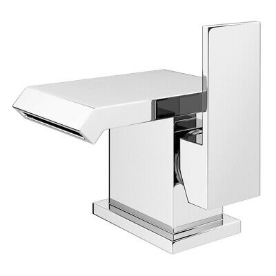Self Closing Non Concussive Mono Basin Mixer Tap Chrome clearance
