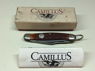 1985 BSA Boy Scouts Assoc Camillus 75th Anniversary Folding Pocket Knife Blade