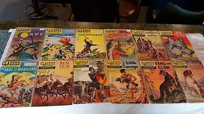 Classics  Illustrated Comics Lot Of 25