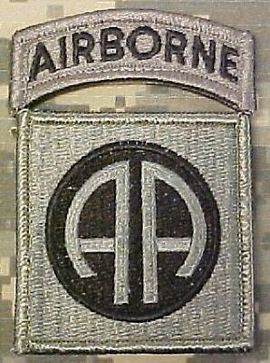 US ARMY 82nd Airborne Division ACU Uniform UCP Klett patch foliage
