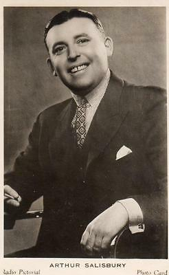 Arthur Salisbury British Radio Pictorial Photo Card Broadcasting BBC 1930's
