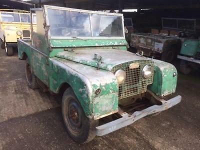 1951 Land Rover Series 1 80 inch - Superb Chassis & Bulkhead