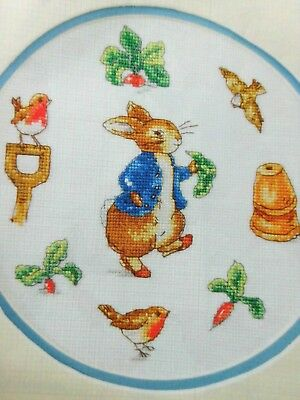 Stickvorlage,Cross Stitch,Point de Croix,Beatrice Potter,Peter Rabbit,Garten,Mez
