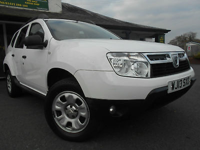 Dacia Duster 1.5L DCi Ambiance 110bhp 5 Door Manual SUV Estate 2013 White
