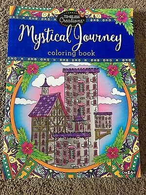 Mystical Journey Adult Coloring Book