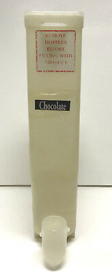 Cecilware cappuccino machine hopper/ canister parts plastic, holds powder