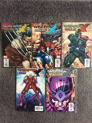 Weapon X - Days of Future Now #1-5 - Marvel Comics