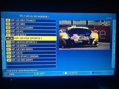IPTV Subscription 1 Month For Mag254/256/ SmartTV Over 5000 Channels + VOD In HD