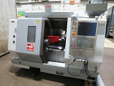2009 HAAS SL-20T CNC TURNING CENTER LATHE w EPSON 6-AXIS MATERIAL HANDLING ROBOT