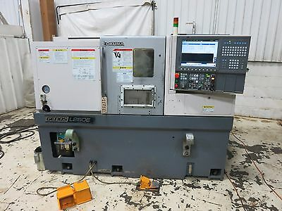 Okuma Genos L250E 2-Axis Cnc Turning Center Lathe New 2012