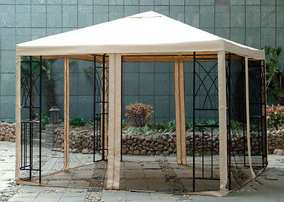 Sunjoy L-GZ105PST-4 Gazebo Canopy Replacement for Target