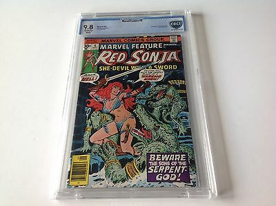 Marvel Feature 6 Cbcs 9.8 Red Sonja Conan Belit 1St Gonar Marvel Comics Like Cgc