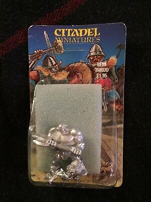 1987 LE19 Thrud the Barbarian and Female Admirer Limited Edition Citadel BNIB