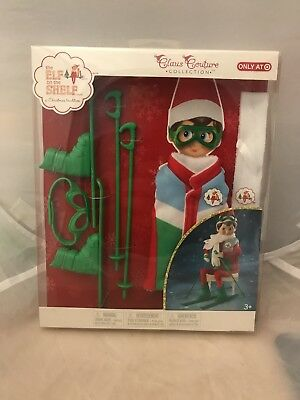 Brand New Elf On The Shelf Claus Couture Collection - Arctic Ski Set Target Excl