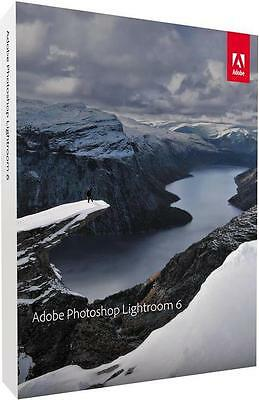 Adobe Photoshop Lightroom 6 Vollversion DVD, inkl. Zweitnutzungsrecht, Win/Mac