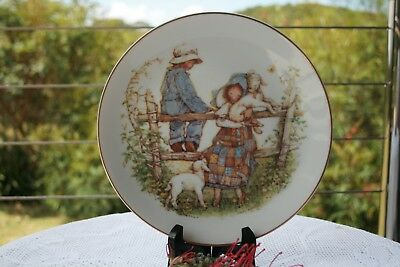 Holly Hobbie Plate Holly Hobbie Country Morning Plate Limited Edition of 2,500