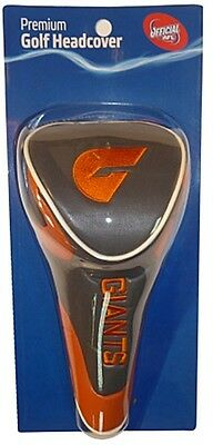 Afl Driver Head Cover - Official Afl Merchandise - Gws Giants - New!