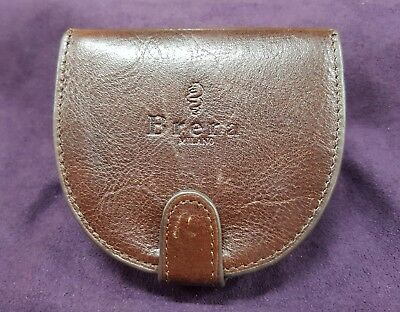 Genuine Leather Coin Tray Purse By Brera Milano