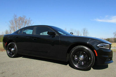 2016 Dodge Charger HEMI *PURSUIT-PACKAGE* 2016 DODGE CHARGER HEMI PURSUIT/POLICE PKG FULLY LOADED *200* MILES AS-NEW, MINT