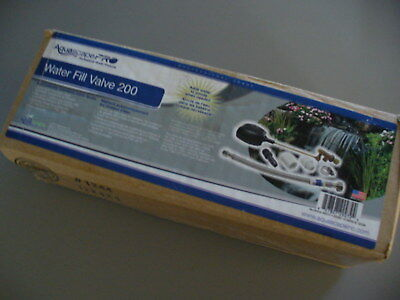 Aquascape Pro Water Fill Valve 200 New In Box Ponds Fountains 29272 Complete Kit
